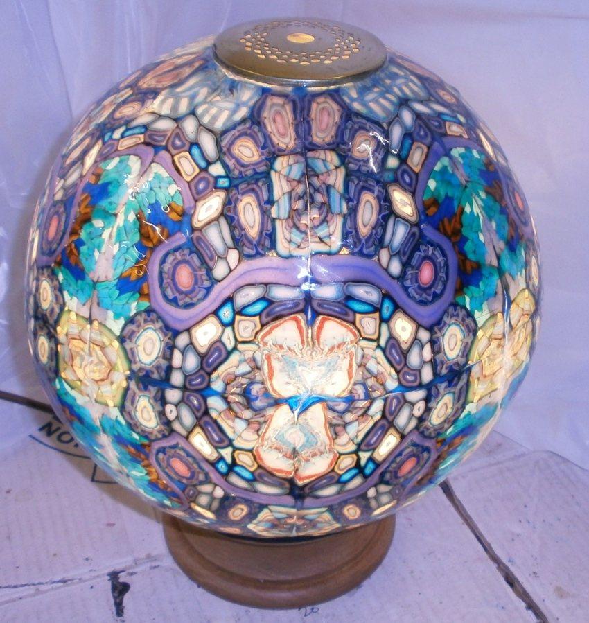 Light Tower Globes: Spectrawax Lighting Unusual Tiffany Style Energy Saving